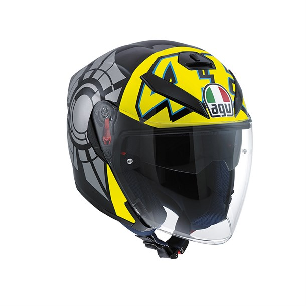 Agv K5 Jet Top Winter Test 2012 Açik Kask