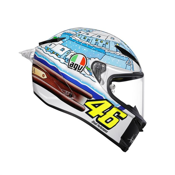 Agv Pista Gp R Limited Edition Plk Rossi Winter 2017 Kapalı Kask