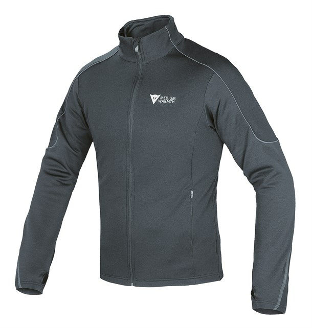 Dainese D-Mantle Fleece Black Black Antracite