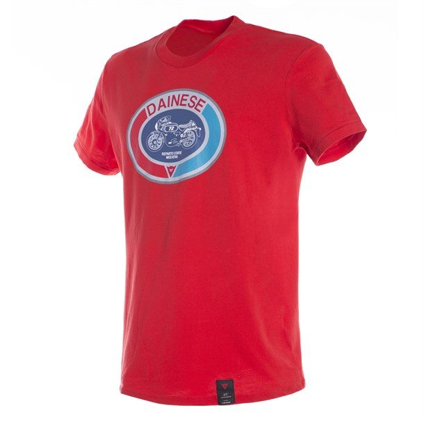 Dainese Moto 72 T-Shirt Red