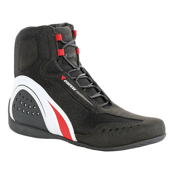Dainese Motorshoe Air Ayakkabi Black White Red