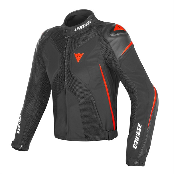 Dainese Super Rider D-Dry Mont Black Black Red Fluo