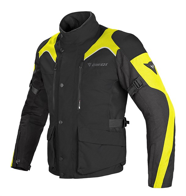 Dainese Tempest D-Dry Mont Black Black Fluo Yellow