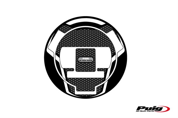 Puig  6299U Fuel Cap.Cover Naked Bmw 07-13 C/Gra