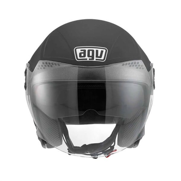 Agv New Citylight Solid Black Açik Kask