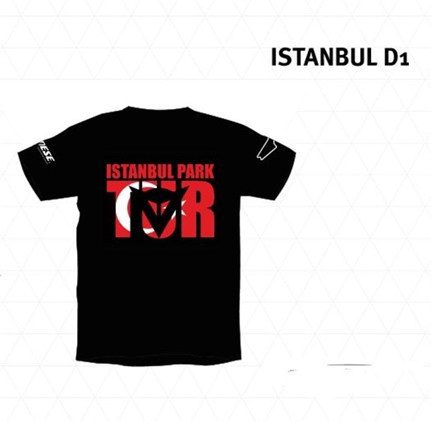 DAINESE ISTANBUL D1 T-SHIRT BLACK