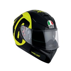 Agv K3 Sv Top Plk Bollo 46 Black Yellow Kapalı Kask