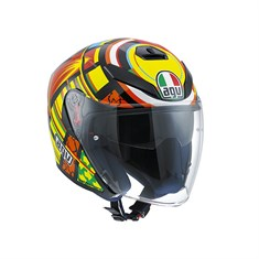 Agv K5 Jet Top Elements  Açik Kask