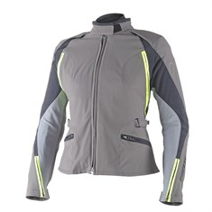Dainese Arya Lady D-Dry Mont Dark Gull Grey Castle Rock Fluo Yellow