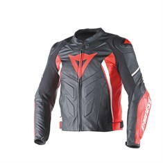 Dainese Avro D1 Deri Mont Black Red White
