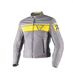 Dainese Black Jack Deri Mont Smoke Yellow Black