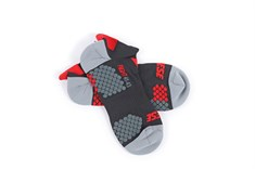 Dainese D- Core Footie Çorap Black Red