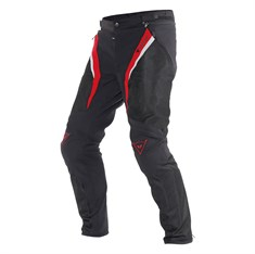 Dainese Drake Super Air Tekstil Pantolon Black Red White