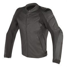 Dainese Fighter Deri Mont Black Black