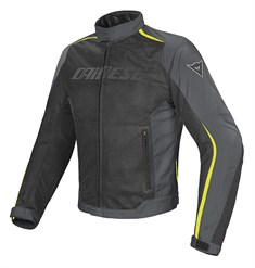 Dainese Hydra Flux D-Dry Mont Black Dark Gull Grey Fluo Yellow