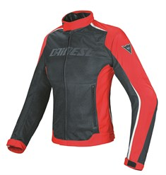 Dainese Hydra Flux Lady Mont Black Red White D-Dry Mont