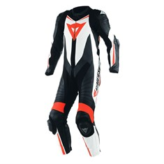 Dainese Laguna Seca D1 Blk Wht Fluo Red