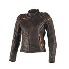 Dainese Michelle Lady Deri Mont Dark Brown Black Orange