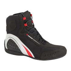 Dainese Motorshoe D-Wp Ayakkabi Black White Red