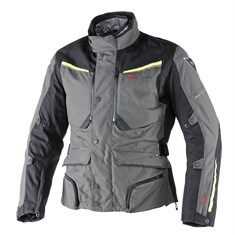 Dainese Sandstorm Gore-Tex Mont Dark Gull Grey Black Fluo Yellow