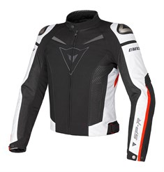 Dainese Super Speed Tekstil Mont Black White Red