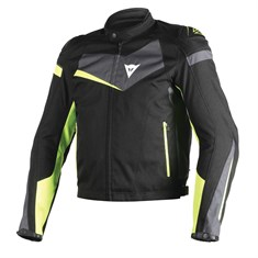 Dainese Veloster Tekstil Mont Black Ebony Fluo Yellow