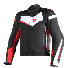 Dainese Veloster Tekstil Mont Black White Red