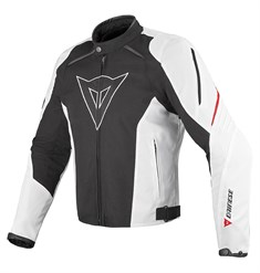 Dainese Laguna Seca Tekstil Mont Black White Red