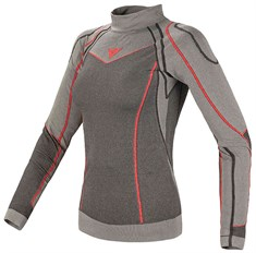 Dainese Evolution Warm Shirt Lady Antracite Grigio