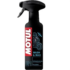 Motul E9 Wash & Wax Cilalı Sprey 400ml