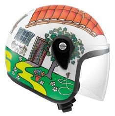 AGV JUNIOR OPEN TOP VALENTINO'S HOUSE AÇIK KASK