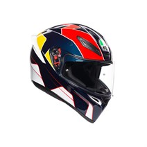 Agv K1 Multi Pitlane Blue Red Yellow Kapalı Kask