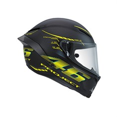Agv Pista Gp Top W-Project 46 2.0 Carbon Matt Kapalı Kask