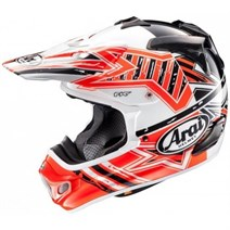 Arai Mx-V Star Orange Kapalı Kask