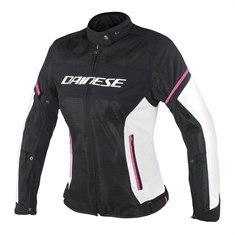 Dainese Air-Frame D1 Lady Tekstil Mont Black Vaporous Grey Fuchsia