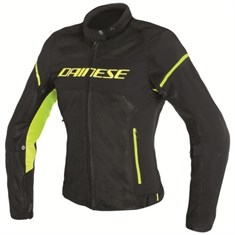Dainese Air-Frame D1 Ldy Tekstil Mont Black Black Yellow Fluo