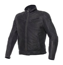 Dainese Black Hawk Deri Mont Black