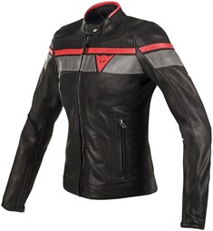 Dainese Blackjack Lady Deri Mont Black Grey Red