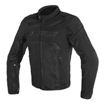 Dainese Air Frame D1 Black Tekstil Mont