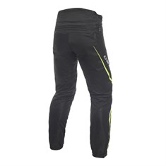 DAINESE DRAKE AIR D-DRY PANTOLON BLACK YELLOW FLUO
