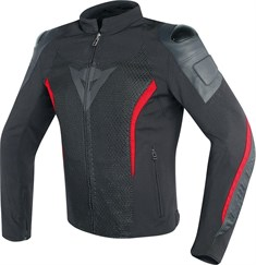 Dainese Mig Deri-Tekstil Mont Black Red