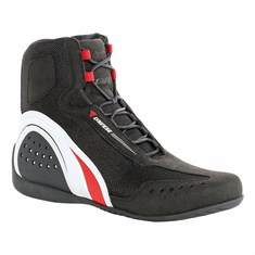 Dainese Motorshoe D-Wp Jb Ayakkabi Black White Red