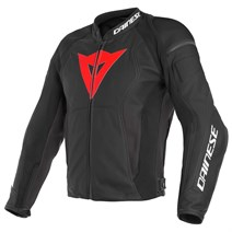 Dainese Nexus Black Lava Red Deri Mont