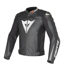 Dainese Super Speed C2 Delikli Deri Mont Black Antracite